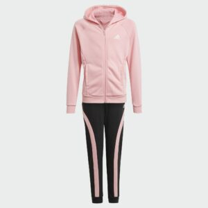 ADIDAS HOODED COTTON TRACK SUIT J